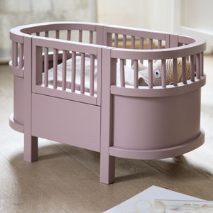 Dusky Pink Dolls Cot Bed - new modern toys