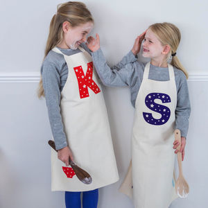 Personalised Letter Children's Apron