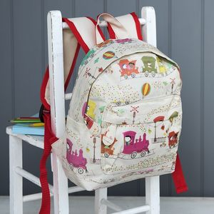 Fun Printed Mini Backpack - bags, purses & wallets