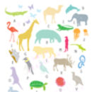 A Z Of Animals Art Print