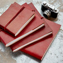 Personalised Anniversary Leather Photo Album