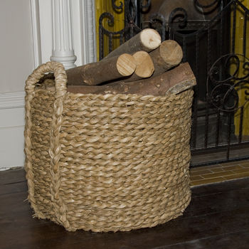 Bull Rush Round Log Basket Extra Large R1/Xl