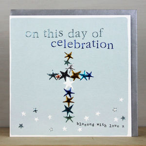 Card For Christening, Baptism Or Confirmation