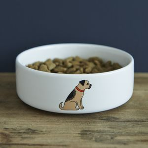 Border Terrier Dog Bowl