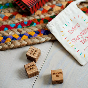 Personalised Storytime Dice - personalised gifts for dads