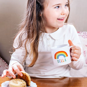Personalised Rainbow Children's Mug - last minute christmas gifts