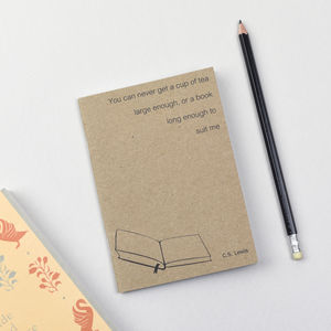 C.S. Lewis Literary Notebook