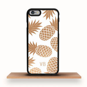 iPhone Case Bronze Pineapples