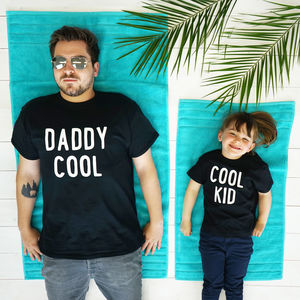 Cool Kids Daddy And Me T Shirt Set - whatsnew