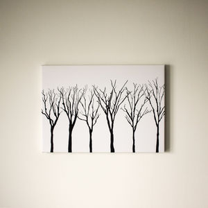 Trees In Starlight Canvas - view all new