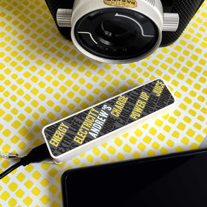 Personalised 'Wordplay' Smart Phone Power Bank - tech accessories for him