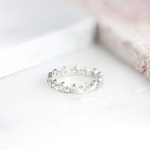 Diamond Crown Ring - engagement rings
