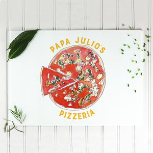 Personalised Pizza Board - view all new