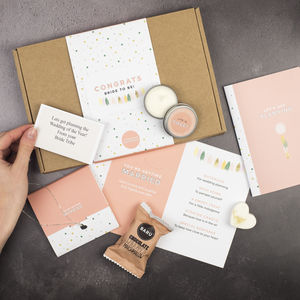 You're Getting Married, Engagement Letterbox Gift Set - our sale top picks