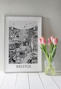 Bristol Poster - posters & prints