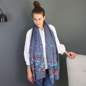 Butterfly Scarf - 40th birthday gifts