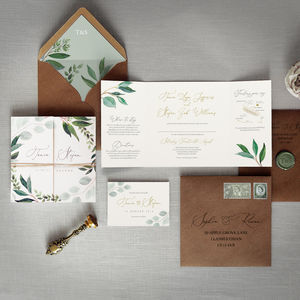 Cyprus Wedding Invitation - invitations