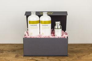 Luxury Organic Body Set - organic pampering sets