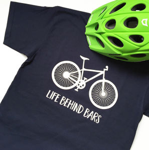 Life Behind Bars Bicycle T Shirt