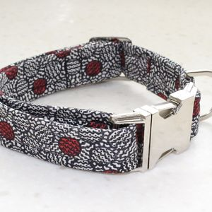 Dexter Liberty Fabric Dog Collar