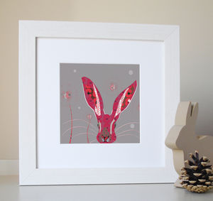 Poppy Hare Giclee Print - view all easter