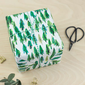 Luxury Tree Gift Wrap - christmas wrapping paper