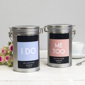 Wedding Coffee Gift Tin