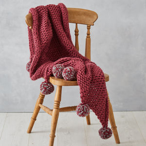 Blanket Knitting Kit Diy Learn To Knit - what's new