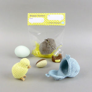 Chick In The Egg Easter Crochet Soft Toy