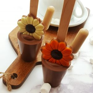 Boozy Daisy Easter Hot Chocolate Spoon Gift - teas, coffees & infusions