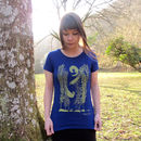 Organic Womens Otter And Kelp T Shirt