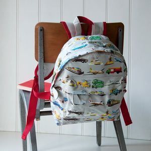 Vintage Transport Mini Backpack - whatsnew