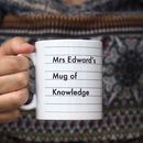Personalised Teacher's Mug