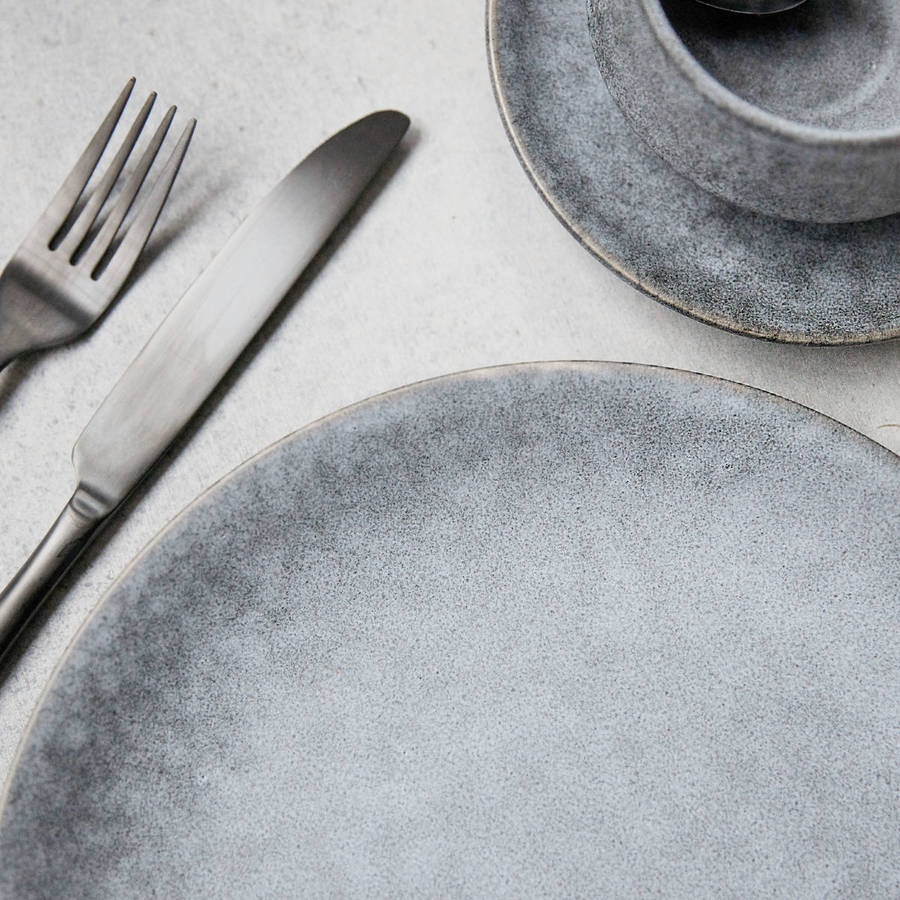 Grey Stone Tableware By All Things Brighton Beautiful