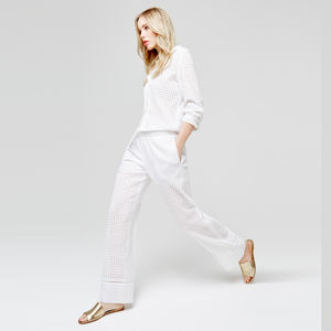 Summer Holiday Pyjama Trousers - wedding fashion