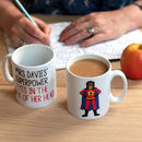 Design Your Own Personalised Superwoman Teacher Mug