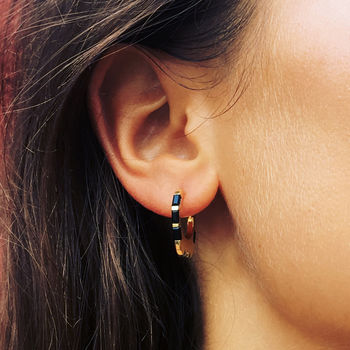 Himalaya Hoop Earrings