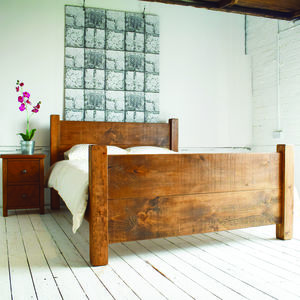 Solid Wood Bed - beds
