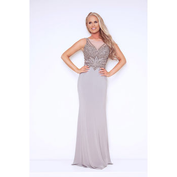 Fitted Leontini Evening Long Dress
