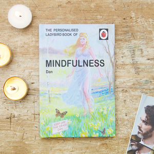 Personalised Ladybird Mindfulness Book - interests & hobbies