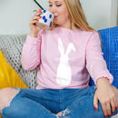 Easter Women's Rabbit Sweatshirt Jumper