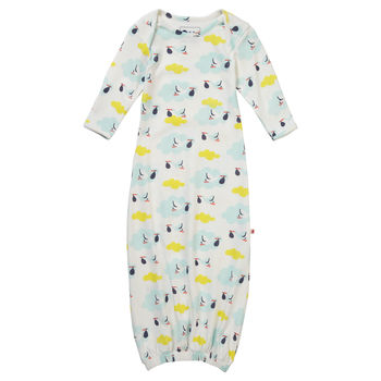 Stork Baby Nightgown