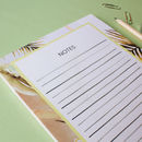 A5 Palm Springs Lime Jotter Notepad