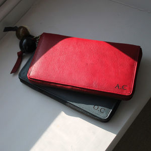 Anna Leather And Polished Horn Wallet - bags & purses