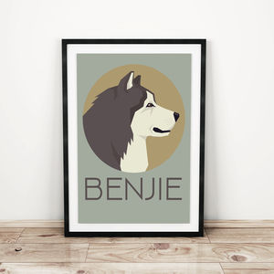Personalised Dog Prints