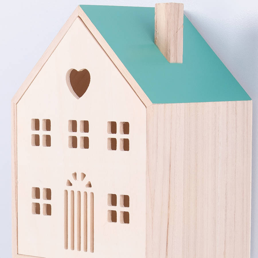 House Shaped Storage Box By Thelittleboysroom