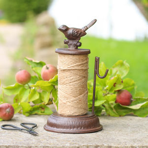 Vintage Garden Cast Iron Twine Dispenser