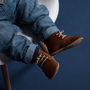 Edward Suede Desert Boots For Babies - summer sale