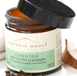 Clean And Calm Hot Cloth Balm Cleanser - cleansers & toners