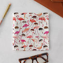 Flamingos And Hedgehogs Handkerchief Pocket Square